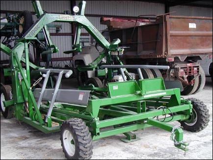haylage-tubing machinery