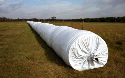 haylage tubes