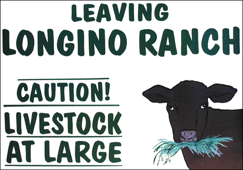 Longino Ranch sign